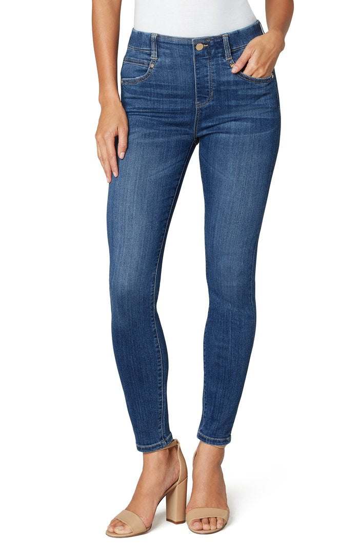 "Liverpool Gia Glider Ankle Skinny 28"" in Charleston LM2367F62"