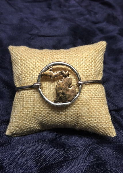 State of MICHIGAN bangle bracelet BEST SELLER!
