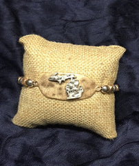 State of MICHIGAN stretch bracelet BEST SELLER!