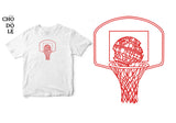Áo thun unisex cotton 100% in hình Death Basketball