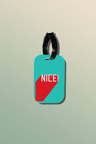 Travel tag - Be Nice