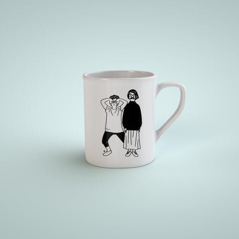 Coffee Cup - Weird Couple