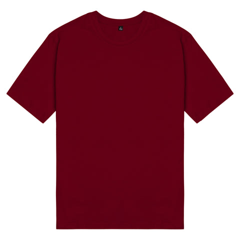 Áo thun basic unisex cotton 100% - red wine colour - chodole