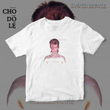 ÁO THUN UNISEX COTTON 100% IN HÌNH  - David Bowie - Aladdin Sane (Album cover)