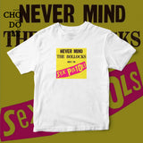ÁO THUN UNISEX COTTON 100% IN HÌNH  - Never Mind The Bollocks - Here's the Sex Pistols (Album cover)