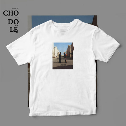 ÁO THUN UNISEX COTTON 100% IN HÌNH  - Pink Floyd - Wish you were here (Album cover)