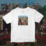ÁO THUN UNISEX COTTON 100% IN HÌNH  - The Beatles - Sgt. Pepper's lonely hearts club band (Album cover)