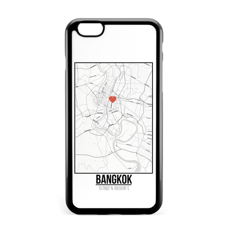 Ốp lưng dẻo iphone in hình Love City Map - BangKok