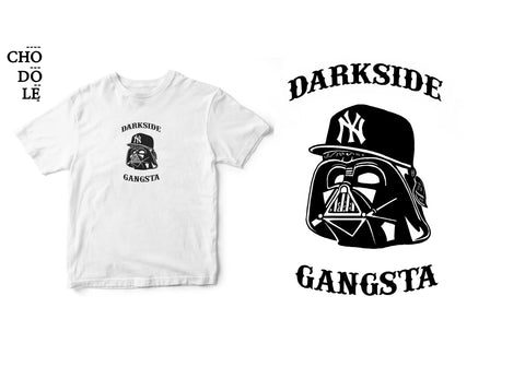 ÁO THUN TRẺ EM COTTON 100% IN HÌNH Super Heroes series - Dark side Gansta