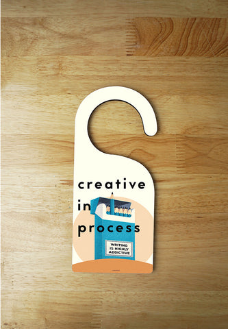 Door Hanger -Creative in Process 1
