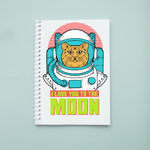 Sổ tay/ notebook in hình i love you to the moon