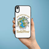 Ốp lưng  iphone in hình Make Earth Clean Again