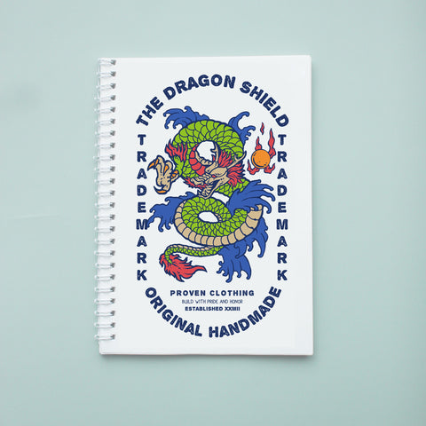 Sổ tay/ notebook in hình retro dragon