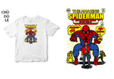 ÁO THUN TRẺ EM COTTON 100% IN HÌNH Super Heroes series - The amazing Spiderman