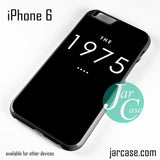 1975 Phone case for iPhone 6 and other iPhone devices - JARCASE