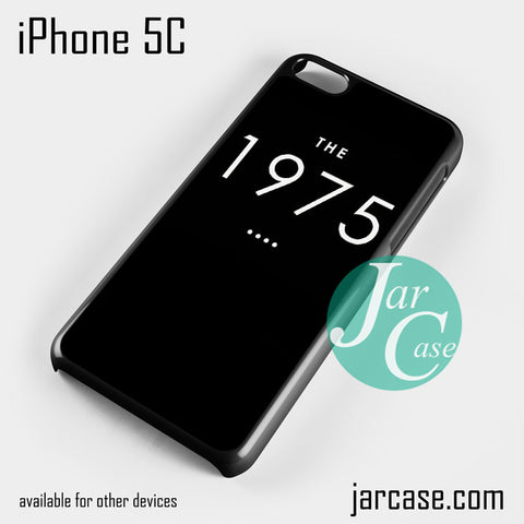 1975 Phone case for iPhone 5C and other iPhone devices