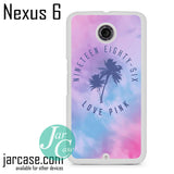 1986 Love Pink Phone case for Nexus 4/5/6 - JARCASE
