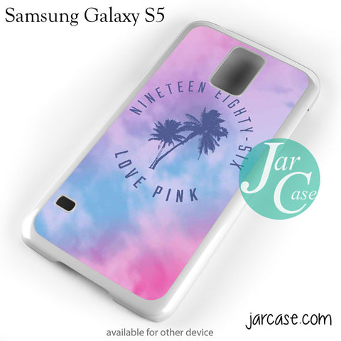 1986 Love Pink Phone case for samsung galaxy S3/S4/S5 - JARCASE