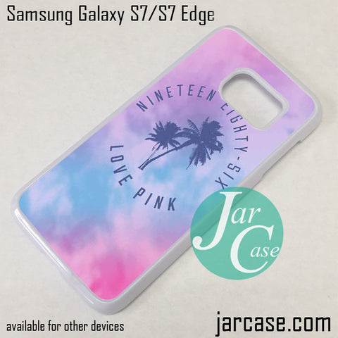 1986 Love Pink Phone Case for Samsung Galaxy S7 & S7 Edge - JARCASE