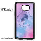 1986 Love Pink Phone case for samsung galaxy note 5 and another devices - JARCASE