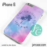 1986 Love Pink Phone case for iPhone 6 and other iPhone devices - JARCASE