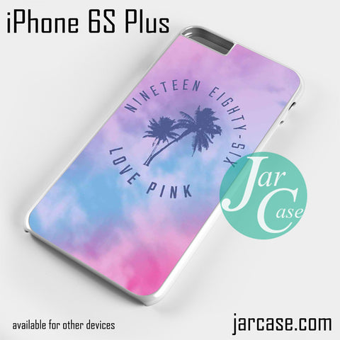 1986 Love Pink Phone case for iPhone 6S Plus and other iPhone devices - JARCASE