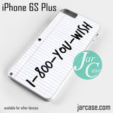 1 800 you wish Phone case for iPhone 6S Plus and other devices - JARCASE