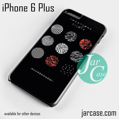 21 Pilots Blurryface  Phone case for iPhone 6 Plus and other iPhone devices