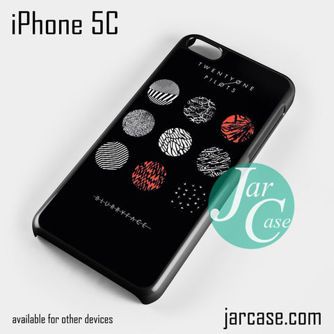21 Pilots Blurryface Phone case for iPhone 5C and other iPhone devices