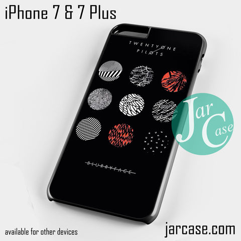 21 Pilots Blurryface Phone case for iPhone 7 and 7 Plus - JARCASE