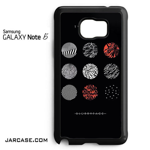 21 Pilots Blurryface Phone case for samsung galaxy note 5 and another devices - JARCASE