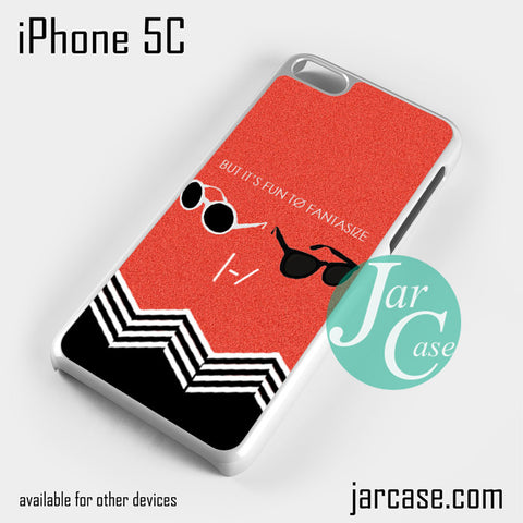 21 Pilots But its Fun Phone case for iPhone 5C and other iPhone devices