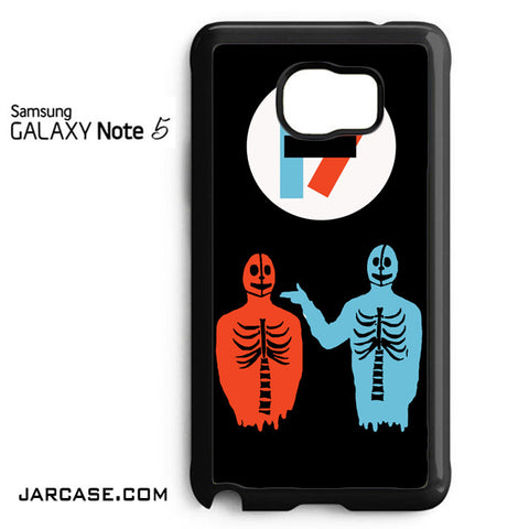 21 Pilots Cool Band Phone case for samsung galaxy note 5 and another devices - JARCASE
