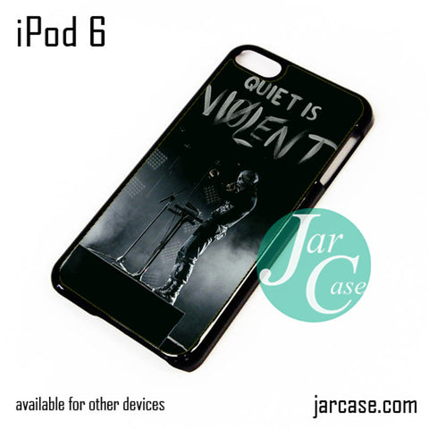 21 Pilots Quiet Is Violent iPod Case For iPod 5 and iPod 6