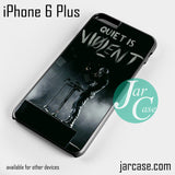 21 Pilots Quiet Is Violent  Phone case for iPhone 6 Plus and other iPhone devices
