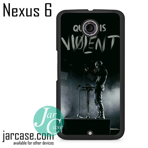 21 Pilots Quiet Is Violent Phone case for Nexus 4/5/6 - JARCASE