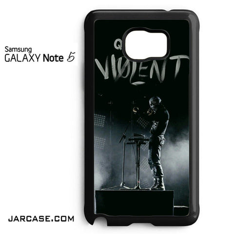 21 Pilots Quiet Is Violent Phone case for samsung galaxy note 5 and another devices - JARCASE