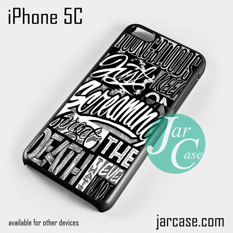 21 Pilots Songs Phone case for iPhone 5C and other iPhone devices