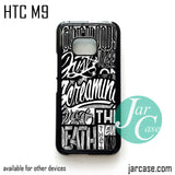 21 Pilots Songs  Phone Case for HTC One M9 case and other HTC Devices