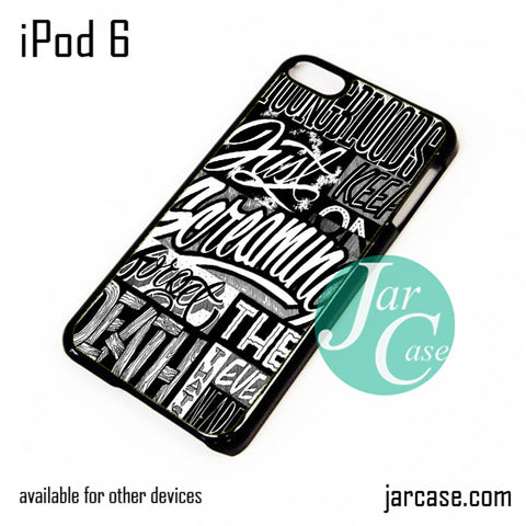 21 Pilots Songs iPod Case For iPod 5 and iPod 6