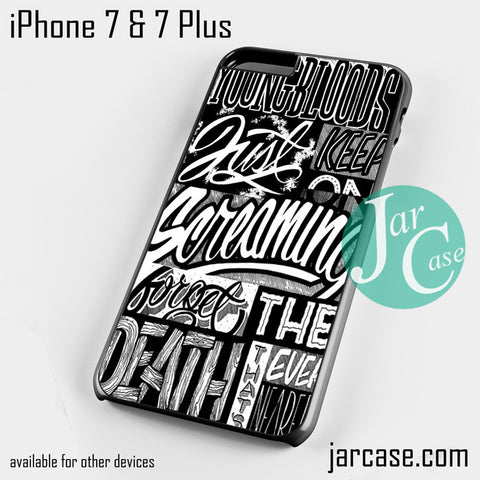 21 Pilots Songs Phone case for iPhone 7 and 7 Plus - JARCASE