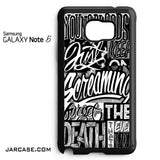21 Pilots Songs Phone case for samsung galaxy note 5 and another devices - JARCASE