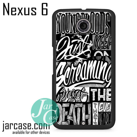 21 Pilots Songs Phone case for Nexus 4/5/6 - JARCASE