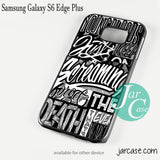 21 Pilots Songs Phone case for Samsung Galaxy S6 Edge Plus And Other Samsung Galaxy Devices - JARCASE