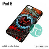 21 Pilots with art logo iPod Case For iPod 5 and iPod 6