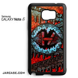 21 Pilots With Art Logo Phone case for samsung galaxy note 5 and another devices - JARCASE