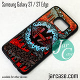 21 Pilots with art logo Phone Case for Samsung Galaxy S7 & S7 Edge - JARCASE