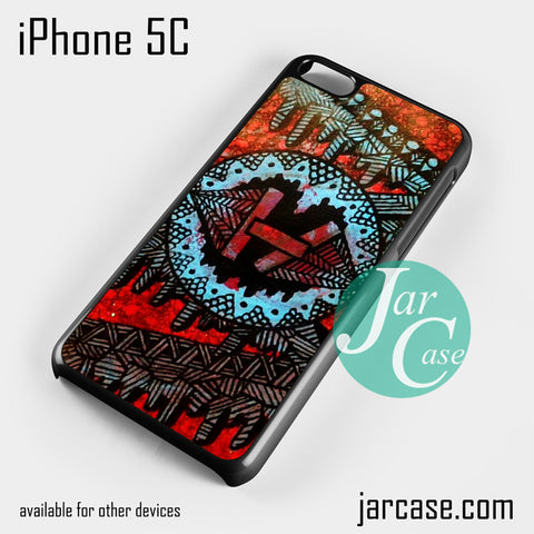 21 Pilots with art logo Phone case for iPhone 5C and other iPhone devices