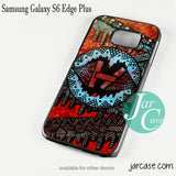 21 Pilots With Art Logo Phone case for Samsung Galaxy S6 Edge Plus And Other Samsung Galaxy Devices - JARCASE
