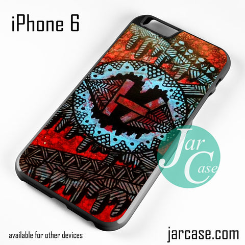 21 Pilots With Art Logo Phone case for iPhone 6 and other iPhone devices - JARCASE